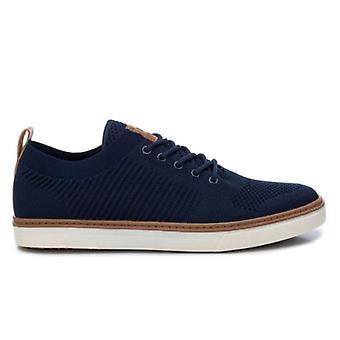 Xti Chaussures pour hommes en tissu stretch bleu