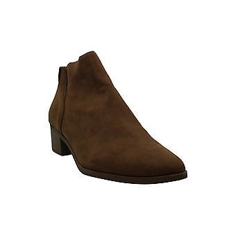 الأمريكية خرقة النساء توري جلد الغزال اللوز أحذية أزياء الكاحل