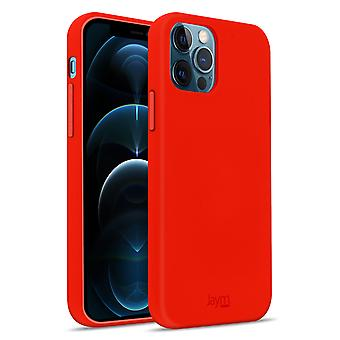 Case iPhone 12 Pro Max Silicone Premium Soft Touch Soft Feeling Jaym Red