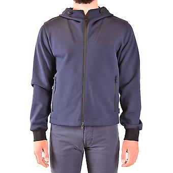 Fay Ezbc035076 Men's Blue Nylon Outerwear Jacket