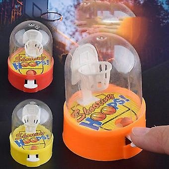 Cute Mini Basketball Machine, Handheld Finger Ball Reduce, Pressure Player