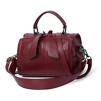 Women Leather Crossbody Small Messenger Bags, Cute Handbags &shoulder Bag