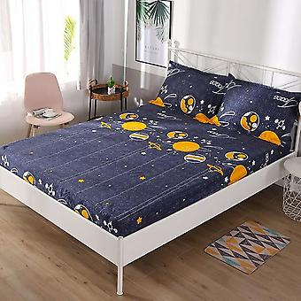 Multi Sizes Anti Stain Stretch Elastic Waterproof Home Bed Mattress Cover,