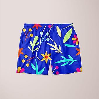 Blue garden kid's sweater (2) shorts