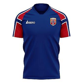 Norja 2020-2021 Away Concept Football Kit (Libero)