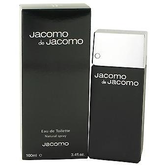 Jacomo de jacomo eau de toilette spray by jacomo 414242 100 ml