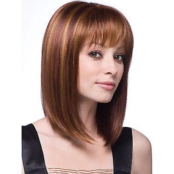 Women & apos;s شعر مستعار المرأة & ق أزياء مستقيمة شعر أغطية الرأس متوسطة الطول