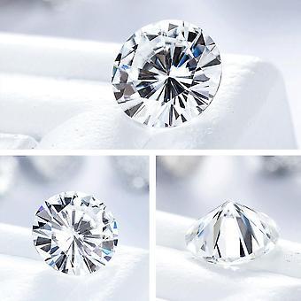 Real Loose Moissanite Diamond Gemstone