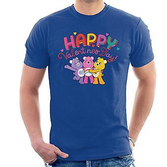 Care Bears Unlock The Magic Happy Valentines Day Men's T-Shirt