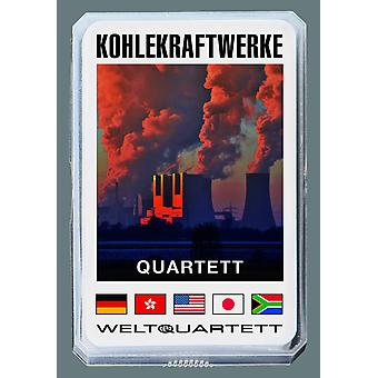 Kömür Santralleri Dörtlüsü Alman Kömür Dörtlüsü Kart Oyunu