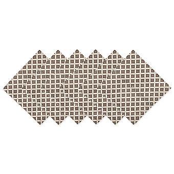 Dii Heirloom Diamond Printed Napkin (Conjunto de 6)