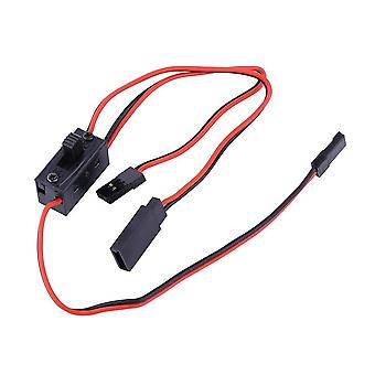 Rc ignition switch, 3-way switch for jr conductor and futaba charging cable