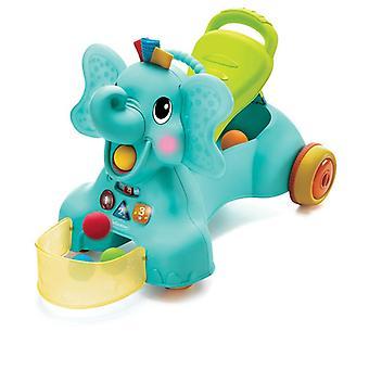Infantino 3-in-1 sit, walk & ride elephant