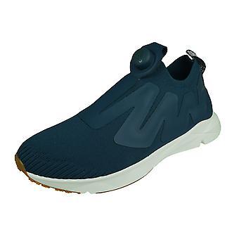Reebok Pump Supreme Ultraknit Mens Running Trainers - Blue