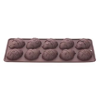 Påsk ägg Chokladform silikon Tala