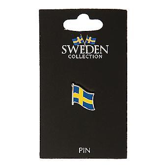 Pin Broche Souvenir Sverige Flag