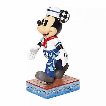 Disney Traditions Mickey Sailor Pose - Snazzy Sailor