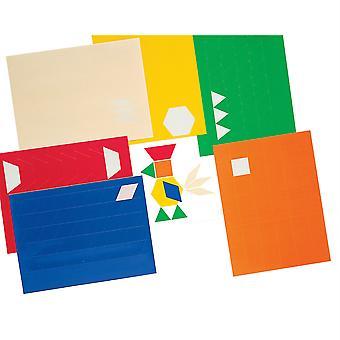 Pattern Blocks Stickers Sticker Pack