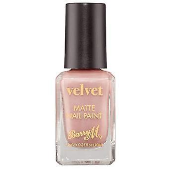Barry M Velvet Nail Paint - Cafe Velvet