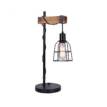 Lámpara de Escritorio Industrial y Retro Ponte Negro