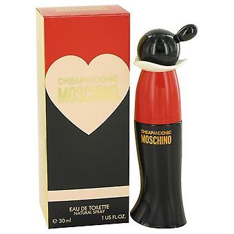 Cheap & Chic Eau De Toilette Spray By Moschino 1 oz Eau De Toilette Spray