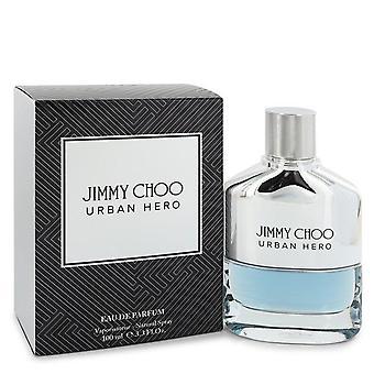 Jimmy Choo Urban Hero Eau De Parfum Spray By Jimmy Choo 3.3 oz Eau De Parfum Spray