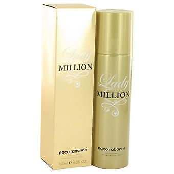 Lady Million Deodorant Spray By Paco Rabanne 5 oz Deodorant Spray