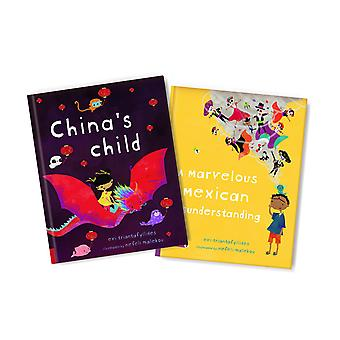 China And Mexico Picture Book Bundle