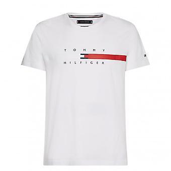 Tommy Hilfiger Tommy Hilfiger Global Stripe Chest T-Shirt Homme