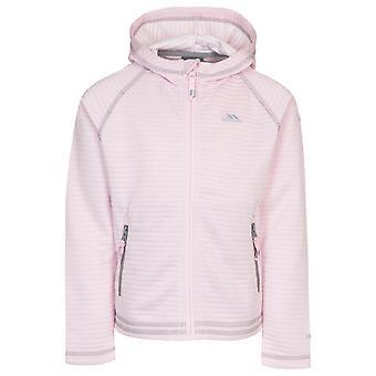 Trespass Girls Fascinated Full Zip Hooded Fleece Jacket