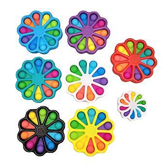 Fidget Toy Stress Relief HandSpeelgoed voor kinderen Gemakkelijk te gebruiken Soft Silicone Decompressie speelgoed Antistress