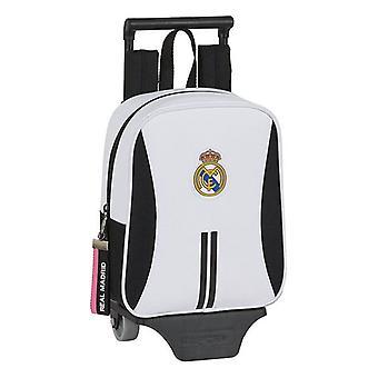 School Rucksack pyörillä 805 Real Madrid C.F. 20/21 Valkoinen Musta