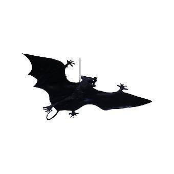 Vleermuis om Halloween 23 cm op te hangen