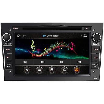 HanFei 2-DIN Autoradio mit Navi fr Opel, 7 Zoll Touchscreen Radio untersttzt Lenkrad Bedienung USB SD
