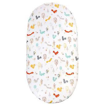 Drap de lit de matelas, couche de bébé, literie changeante de garniture, berceau imprimé de dessin animé