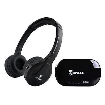 الأصلي BINGLE B616 سماعة لاسلكية متعددة الوظائف مع جهاز إرسال