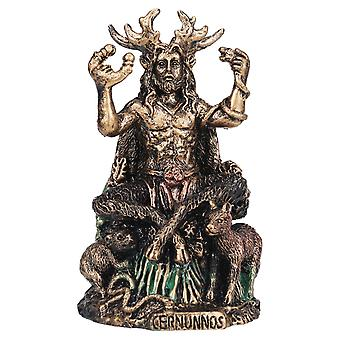5 Pouces Cernunnos Celtics Horned God Of Animals Resin Statue The Underworld Statue For Home Garden