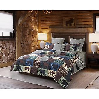 Spura Home Pictorial Wilderness Patch Övergångstäcke Set