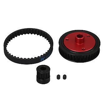 Schwarz 5mm Gürtel Antriebsgetriebe Ersatz für Axial RC1:10