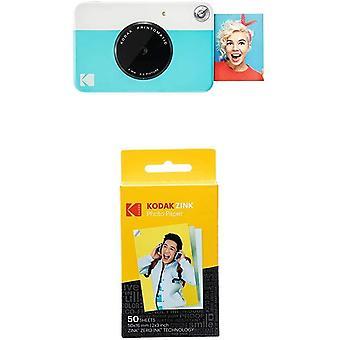 FengChun PRINTOMATIC Digitale Sofortbildkamera, Vollfarbdrucke auf Zink 2x3-Fotopapier mit