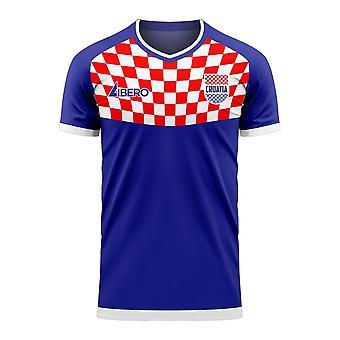 Kroatië 2020-2021 Pre-Match Concept Football Kit (Libero)