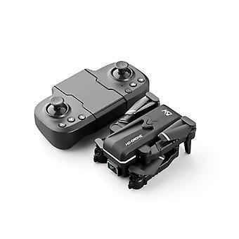 KK1 RC Mini Drone 4K Professional HD Dual Camera WiFi Fpv One-key Automatic Return Hold Foldable Quadcopter Kids Toys Gift