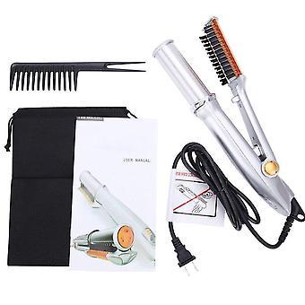 Hair Curler 3 In 1 Hot Air Styler Straightener Curler Styler Multi Hairdressing Brush|Curling Irons