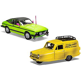 Reliant Robin (And Ford Capri Mk II) from Ony Fools and Horses