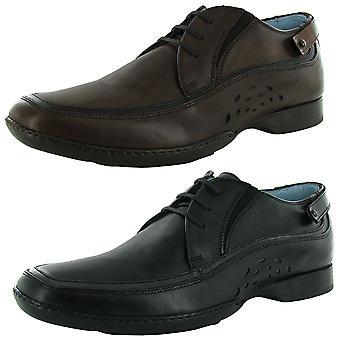 Steven Mens Dunkan Leather Oxford Shoe