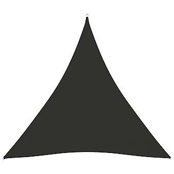 vidaXL Toldo Oxford Tecido Triangular 3x3x3 m Antracito