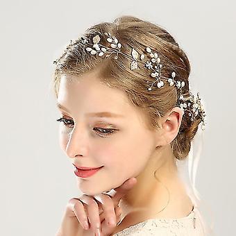 Noiva Wedding Hair Piece Flower Girls Bridal Hair Accessories