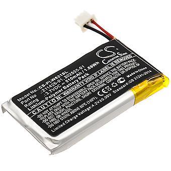 Wireless Headset Battery for Plantronics 202555-01 211425-01 Savi 8210 W8210