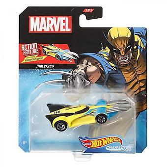 Hot Wheels Captain America Marvel Car
