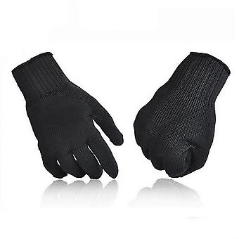 Steel Wire Anti Cut Gloves Level 5 Potection Breathable Safety Gloves